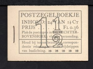 Pz22d voor- en achterkant. Uitgave 1935.