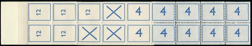 Testboerkje met 5x 12 en 10x 4
