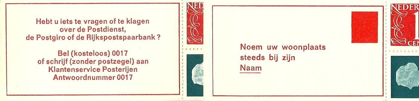 Links tekst Pb8b, rechts de tekst van Pb8c.